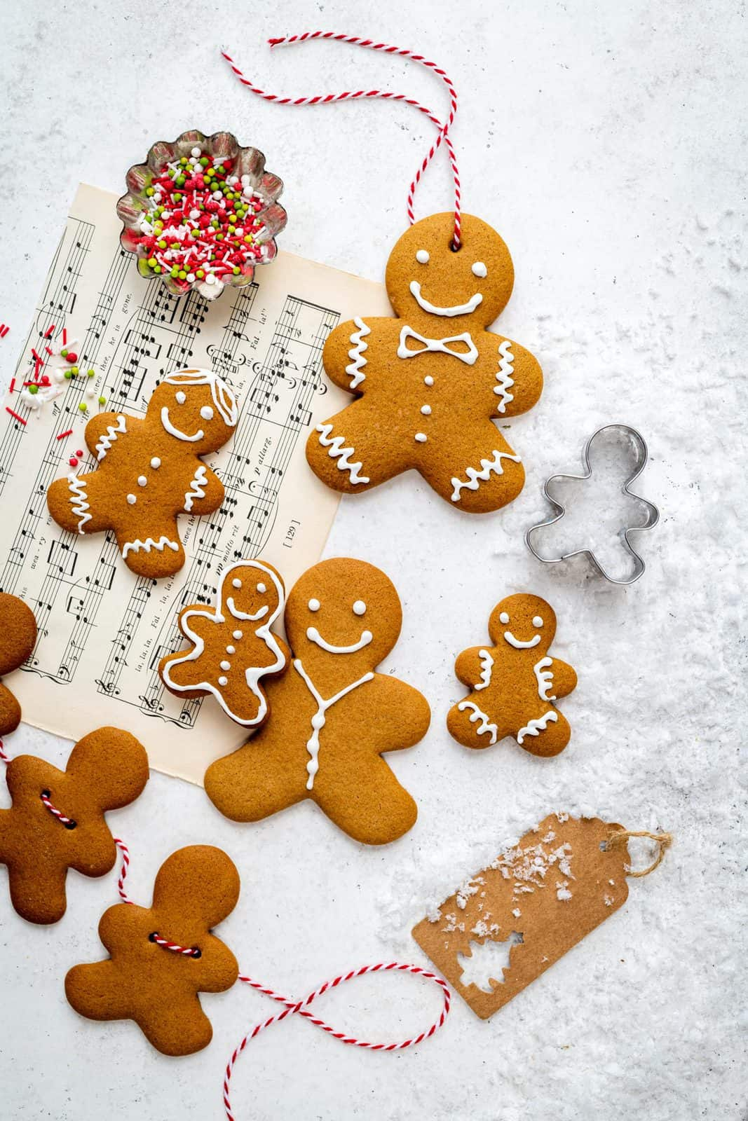 Easiest Gingerbread Cookies Supergolden Bakes