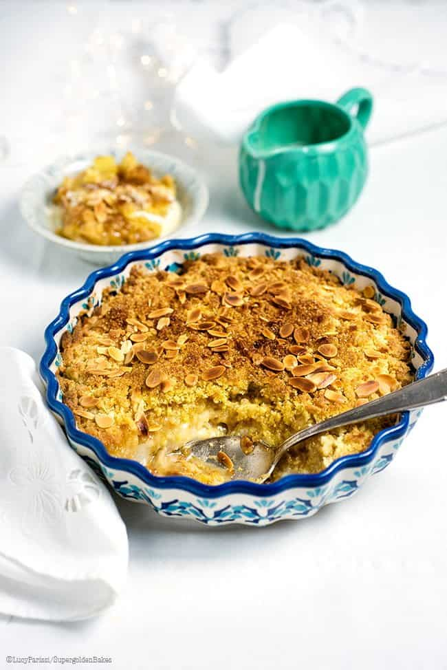 Simple Pleasures: Pear and Stem Ginger Crumble
