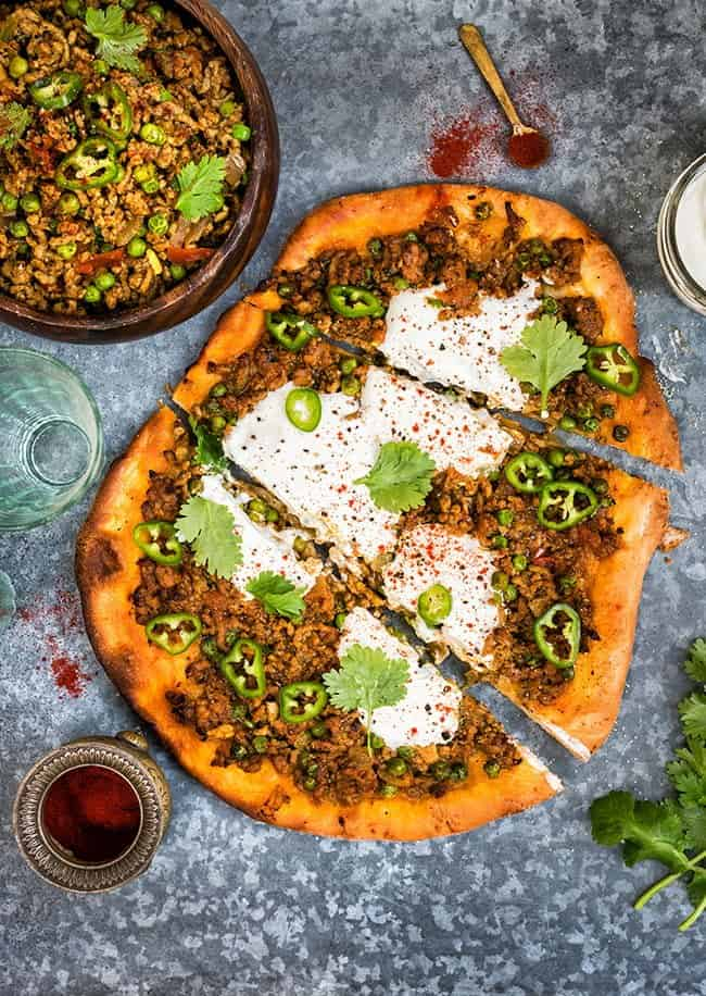 Easy indian lamb keema recipe pizza topping forumfinder Gallery