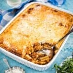 Greek Pastitsio – mince and pasta bake with cheese sauce
