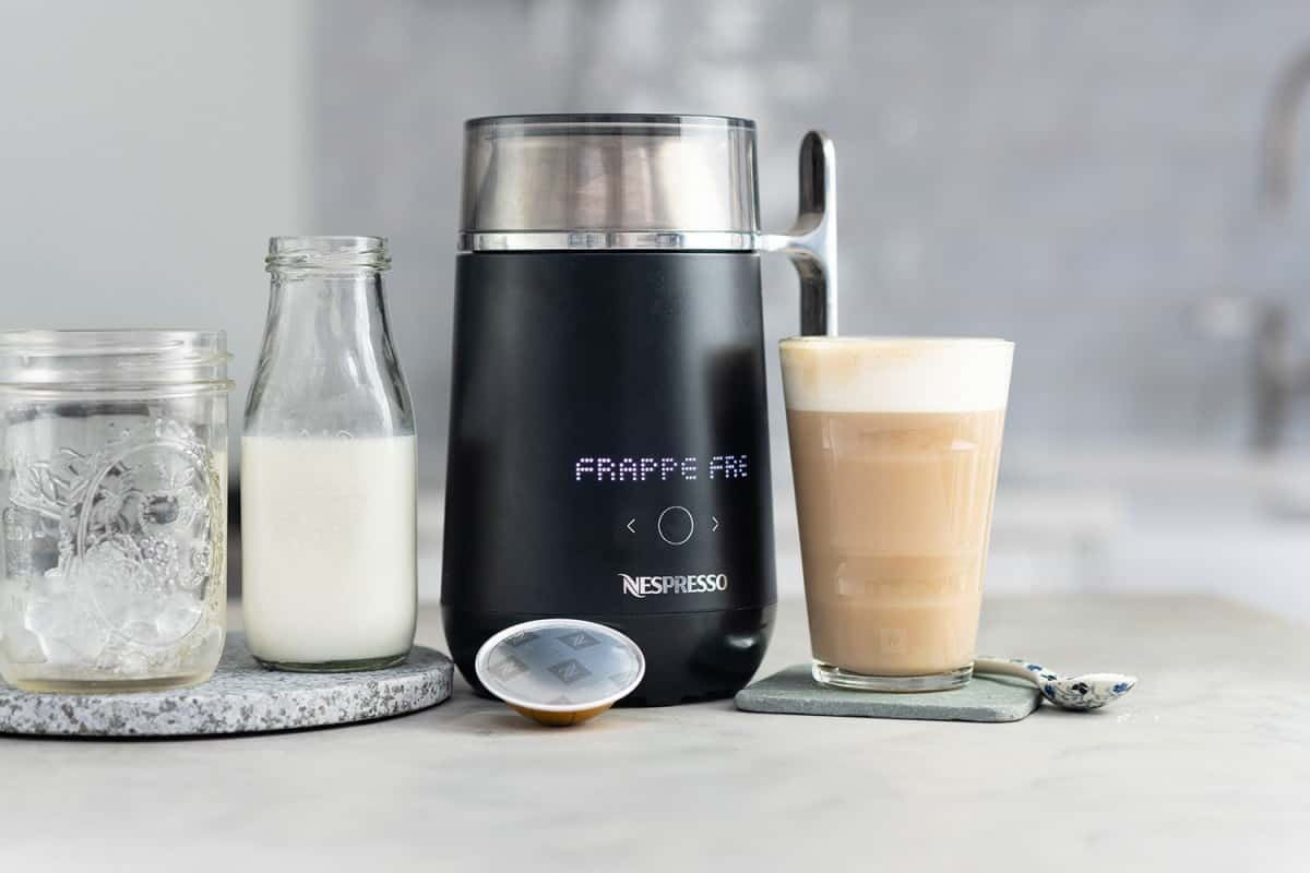 Frappé Freddo using the Nespresso Barista Coffee and Milk recipe maker