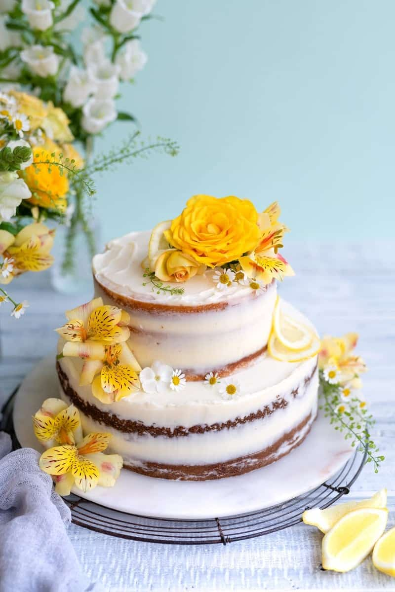 lemon wedding cake recipes uk make a royal lemon and elderflower wedding cake 16811
