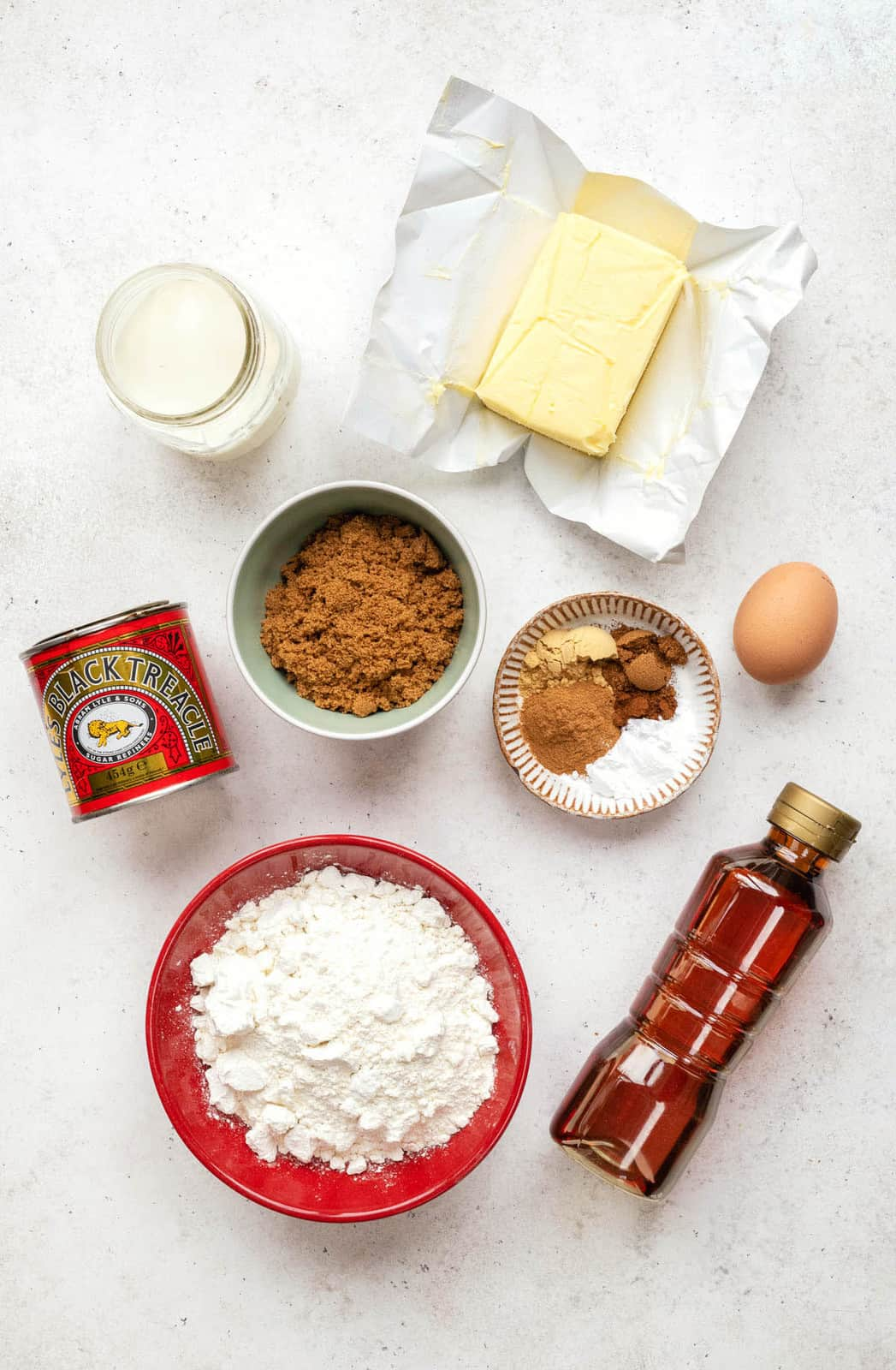 Ginger Cake Ingredients