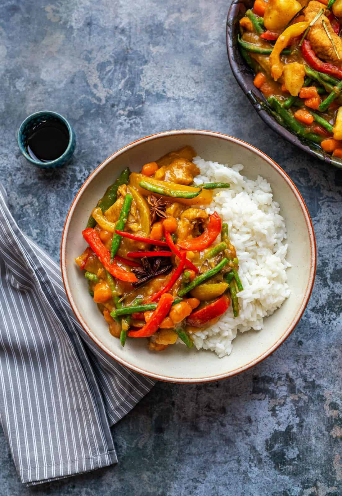 Chinese Chicken Curry Slimming Friendly Supergolden Bakes