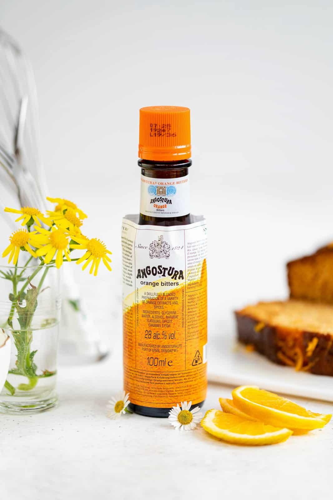 bottle of Angostura orange bitters